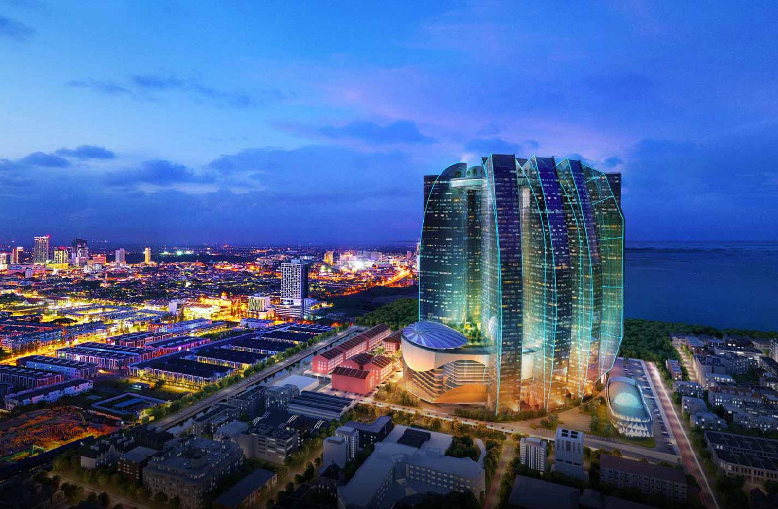 The Sail Melaka – Sheng Tai International